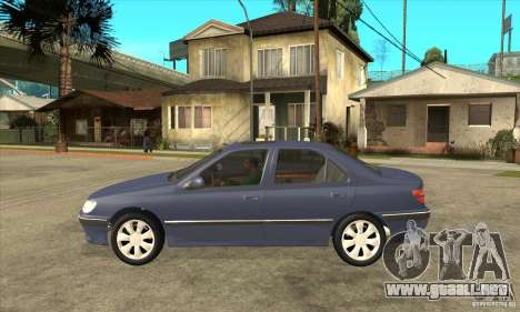 Peugeot 406 Sedan C para GTA San Andreas left