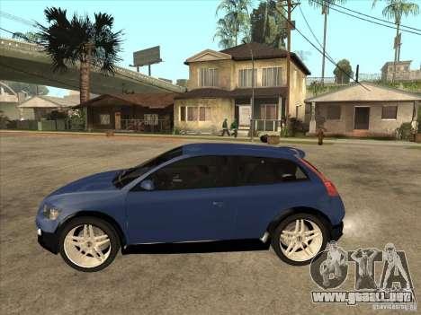 VOLVO C30 Sport 2009 para GTA San Andreas left