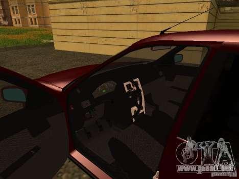 LADA 2170 Premier para GTA San Andreas vista hacia atrás