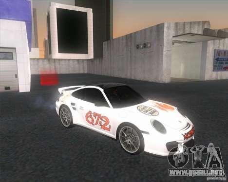 Porsche 911 GT2 (997) para la visión correcta GTA San Andreas
