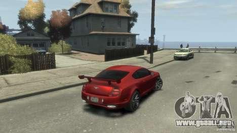 Bentley Continental SS para GTA 4 left