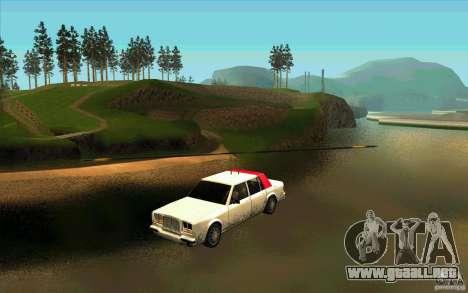 Avtolët para GTA San Andreas vista posterior izquierda