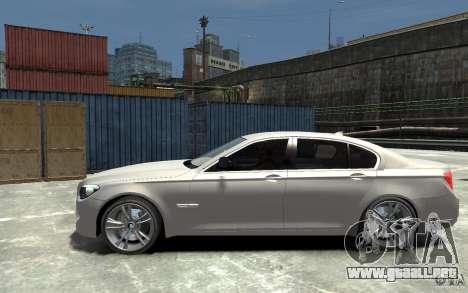 BMW 750i F01 v3 para GTA 4 left
