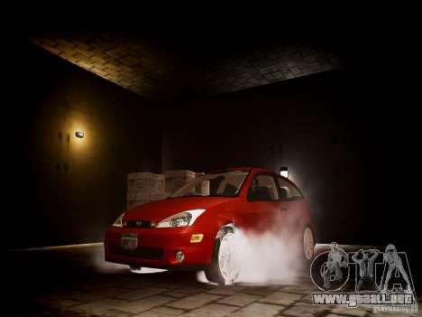 Ford Focus SVT 2003 para GTA 4 vista hacia atrás