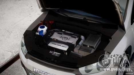 Volkswagen Scirocco III 2008 para GTA 4 vista hacia atrás