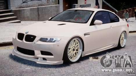 BMW M3 Hamann E92 para GTA 4 left