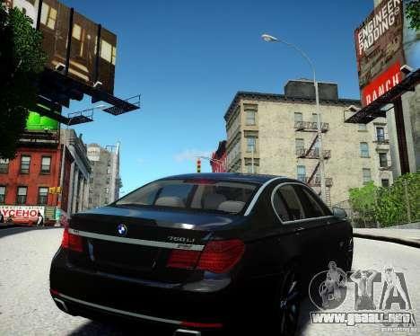 BMW 750Li 2013 para GTA 4 visión correcta