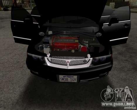 Mitsubishi Diamante para la visión correcta GTA San Andreas