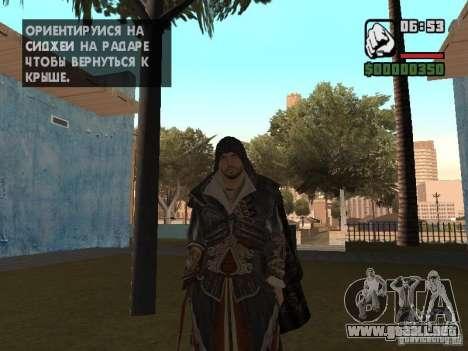 Ezio auditore en armadura de Altair para GTA San Andreas