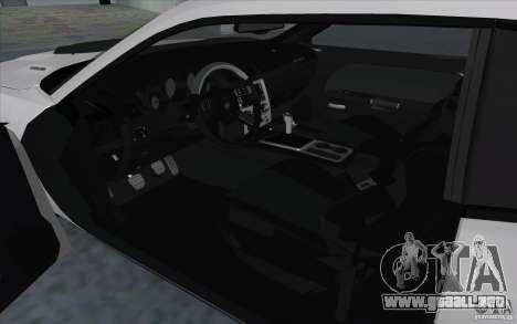 Dodge Challenger SRT8 para la visión correcta GTA San Andreas