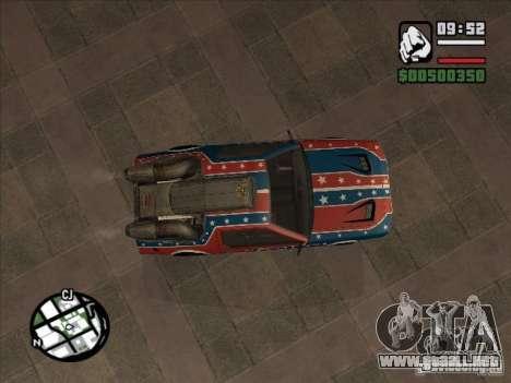 Coches de Flatout 2 para GTA San Andreas vista posterior izquierda