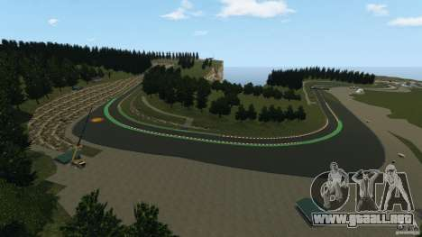 SPA Francorchamps [Beta] para GTA 4 quinta pantalla