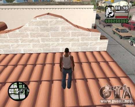 GTA 4 Anims for SAMP v2.0 para GTA San Andreas quinta pantalla