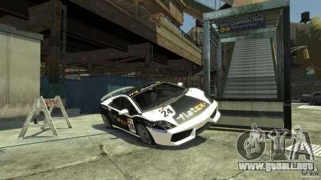 Lamborghini Gallardo SE Threep Edition [EPM] para GTA 4 vista lateral