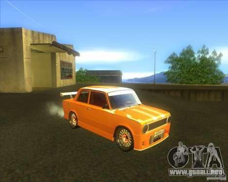 VAZ 2101 explosivas coches tuning para la visión correcta GTA San Andreas