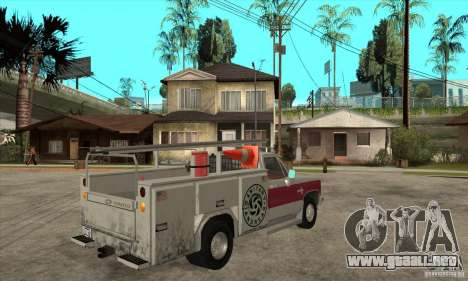 Chevrolet Silverado - utility para la visión correcta GTA San Andreas