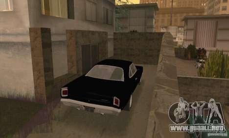 Plymouth Roadrunner 383 para GTA San Andreas left
