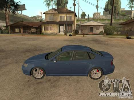 Subaru Legacy 3.0 R para GTA San Andreas left