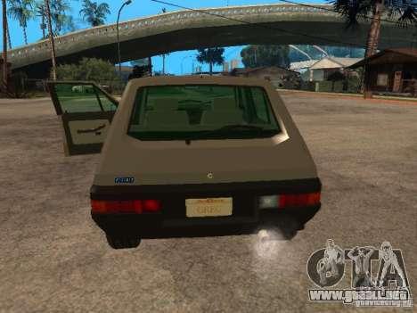 Fiat Ritmo para GTA San Andreas vista hacia atrás