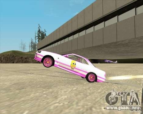 Nissan Skyline R34 Mr.SpaT para la visión correcta GTA San Andreas