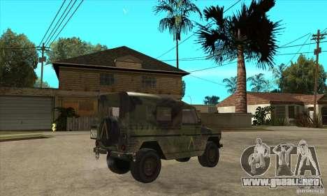 Mercedes Wolf para la visión correcta GTA San Andreas