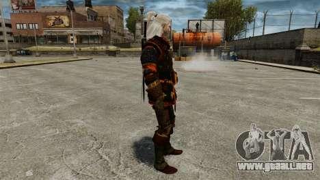 Geralt de Rivia v4 para GTA 4 segundos de pantalla