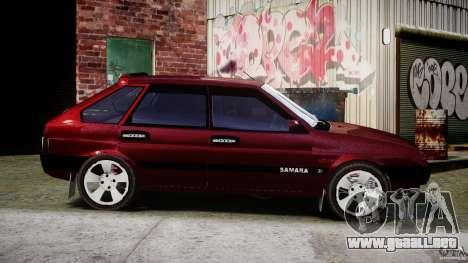 Vaz-2109 Samara 1999 para GTA 4 vista lateral