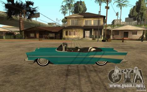 Chevrolet Bel Air 1956 Convertible para GTA San Andreas left