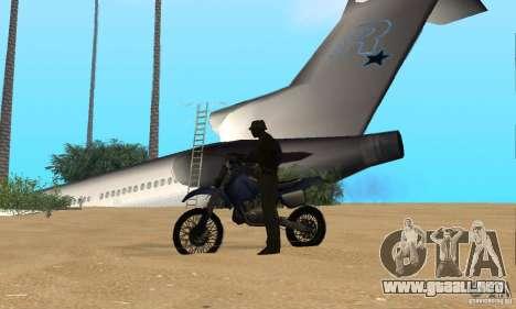 Lost Island para GTA San Andreas quinta pantalla