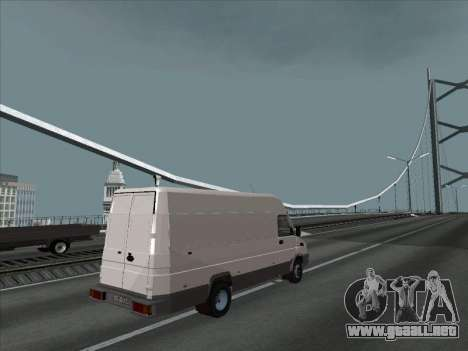 Iveco TurboDaily 35-10 para GTA San Andreas left