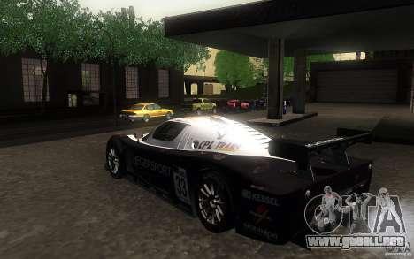 Maserati MC12 GT1 para la visión correcta GTA San Andreas