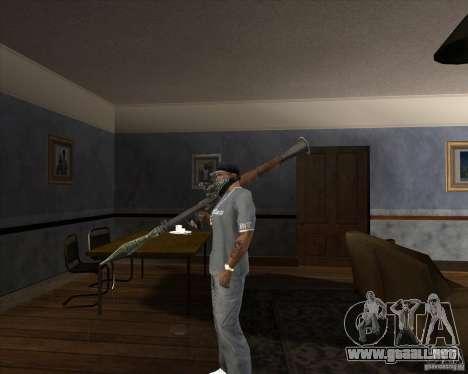 RPG 7 de Battlefield Vietnam para GTA San Andreas segunda pantalla