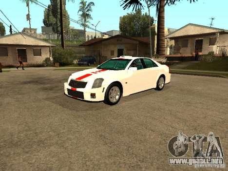 Cadillac CTS 2003 Tunable para visión interna GTA San Andreas
