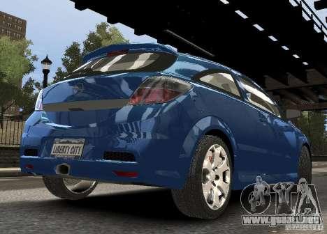 Opel Astra OPC para GTA 4 visión correcta