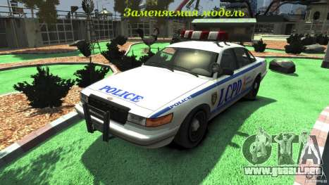 Police Bike para GTA 4 vista interior