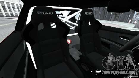 BMW M3 GTS 2010 para GTA 4 vista interior