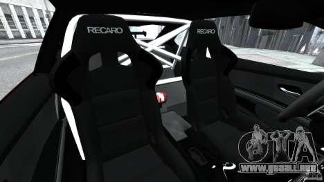 BMW M3 GTS 2010 para GTA 4 vista interior