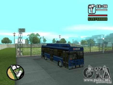 LIAZ 5283.70 para GTA San Andreas left