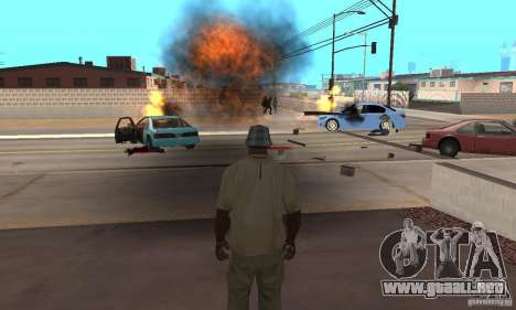 Hot adrenaline effects v1.0 para GTA San Andreas quinta pantalla