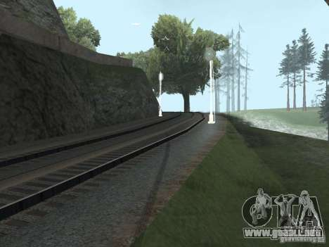 Luces de tráfico ferroviario 2 para GTA San Andreas tercera pantalla