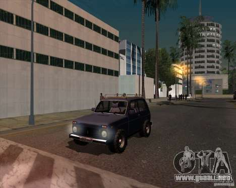 VAZ 21213 Offroad para la visión correcta GTA San Andreas