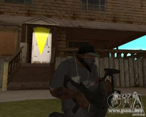 Resident Evil 4 weapon pack para GTA San Andreas tercera pantalla