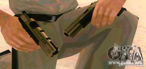 Weapon Pack v 5.0 para GTA San Andreas