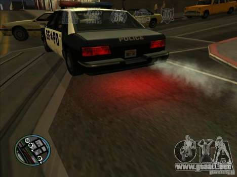 GTA IV LIGHTS para GTA San Andreas sucesivamente de pantalla