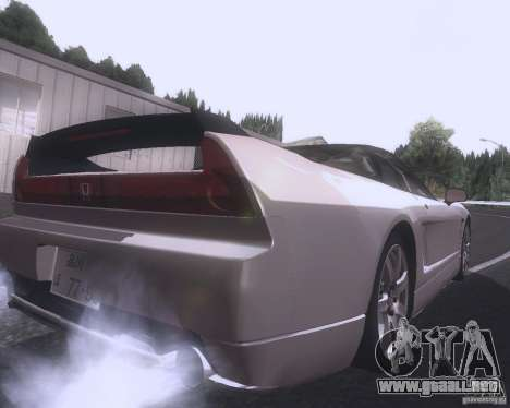 Honda NSX Japan Drift para la visión correcta GTA San Andreas