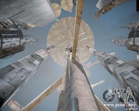 Stargate-Atlantis para GTA 4 adelante de pantalla