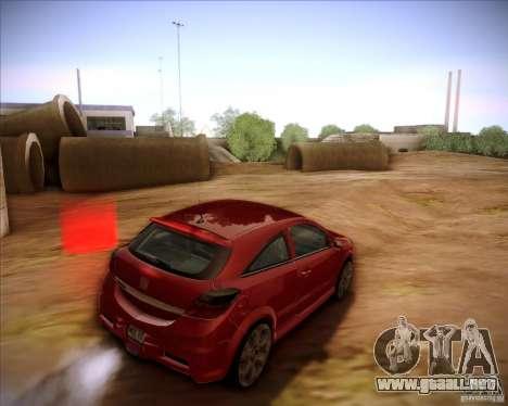 Opel Astra Saturn para GTA San Andreas left