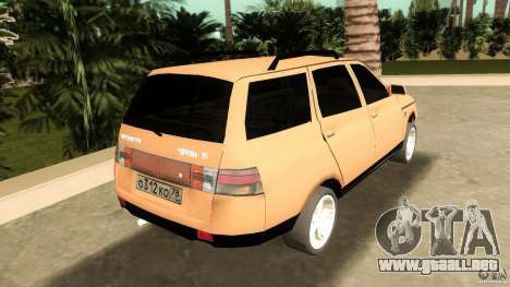 VAZ 2111 para GTA Vice City vista lateral izquierdo