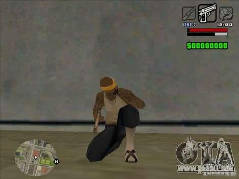HUD by Alex para GTA San Andreas sucesivamente de pantalla