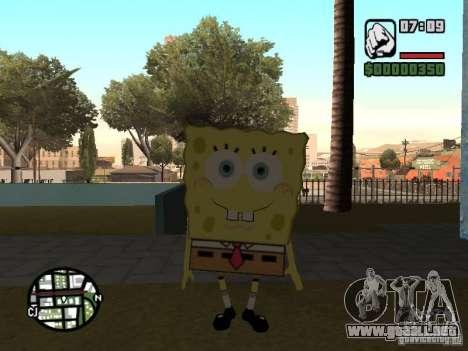 Sponge Bob para GTA San Andreas sexta pantalla
